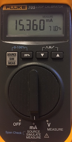 Fluke 705 4-20mA Loop Calibrator